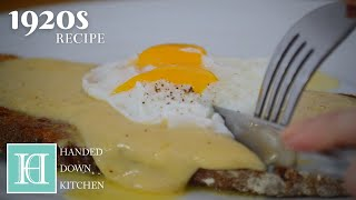 American Golden Buck Toasts ◆ 1920s Recipe