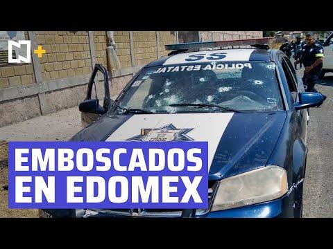 Delincuencia organizada asesina a 13 policías tras emboscada en Coatepec, Estado de México