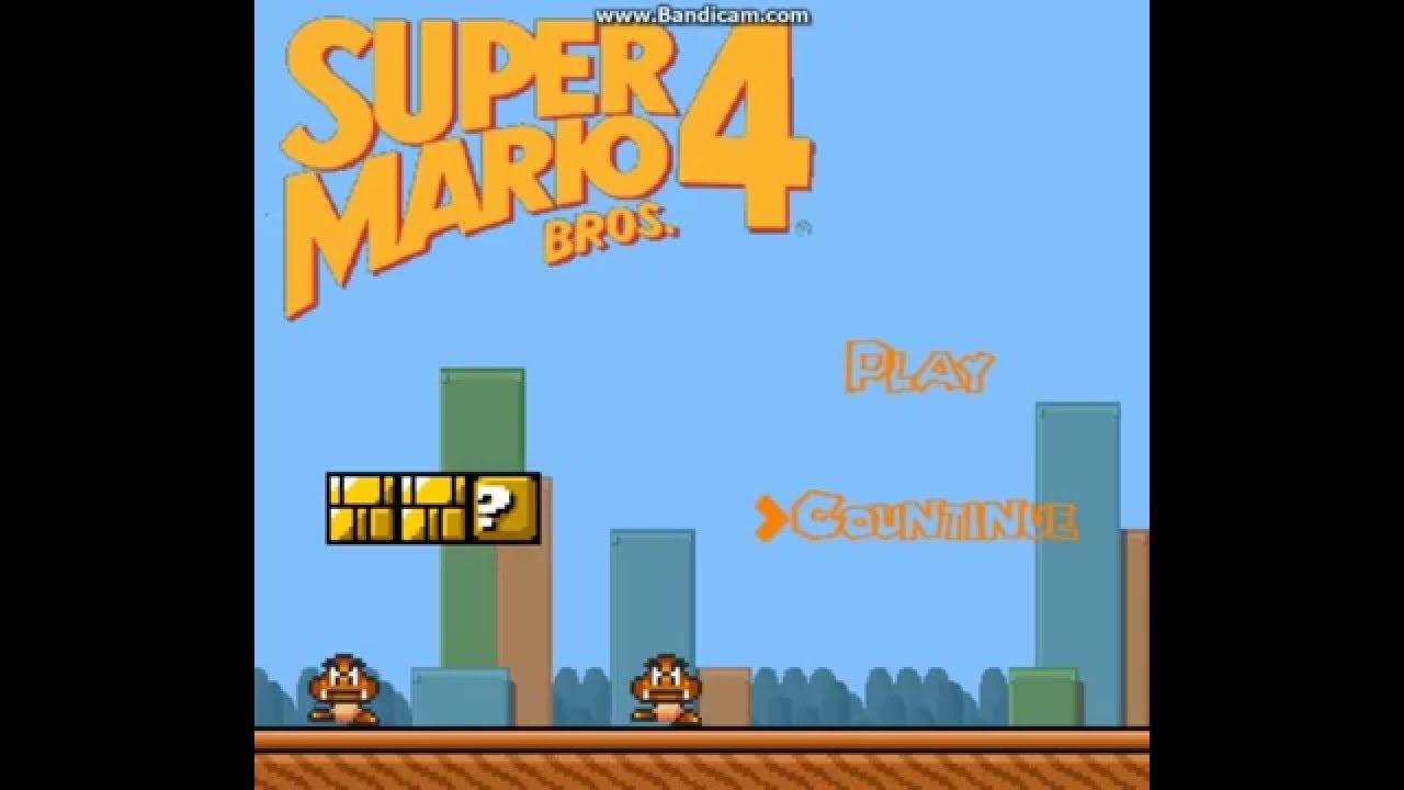 game maker super mario bros engine