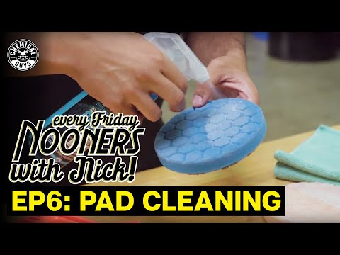 How To Clean Polishing Pads By Hand || Nooners With Nick Ep.6 ||