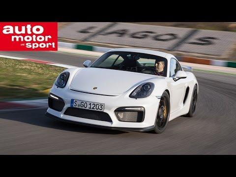 Porsche Cayman GT4 - Impression & Interview mit Walter Röhrl