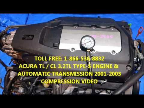 JDM Acura TL TypeS Engine Automatic Transmission - 2002 acura tl type s transmission