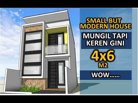 small-but-cool-house-design-4x6-meters---2-bedrooms