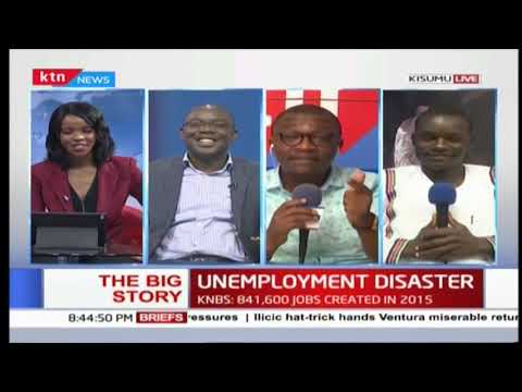 Kenya's Youth Unemployment reaches peak | The Big Story 22nd October 2018