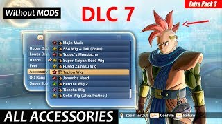 Download Dragon Ball Xenoverse 2 All Accessories Including Dlc 7 Updated Ver 1.10 | Both Male-Female Saiyans Mp3 and Videos