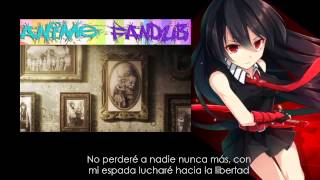 Video Akame ga kill! OP 2 - Liar mask - Fandub Latino download MP3, 3GP, MP4, WEBM, AVI, FLV Agustus 2018