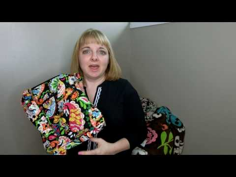 My Huge Collection of Vera Bradley Hipsters and Review