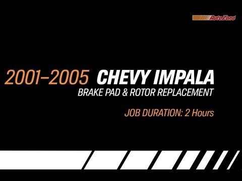Replacing Brakes & Rotors On A Chevy Impala - 2001-2005 - Make Model Series