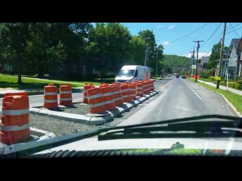 A Drive Through Montpelier, Vermont