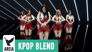 [KPOP MASHUP MV] Dalshabet x Yuri x Seohyun - Secret Joker | Areia Kpop Blend #3B