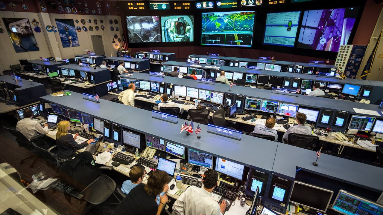 Room Layout Free How Nasa S Mission Control Supports Space Missions Youtube