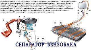 ВАЗ 2114. Сепаратор бензобака.