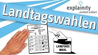 Landtagswahlen einfach erklärt (explainity® Erklärvideo)