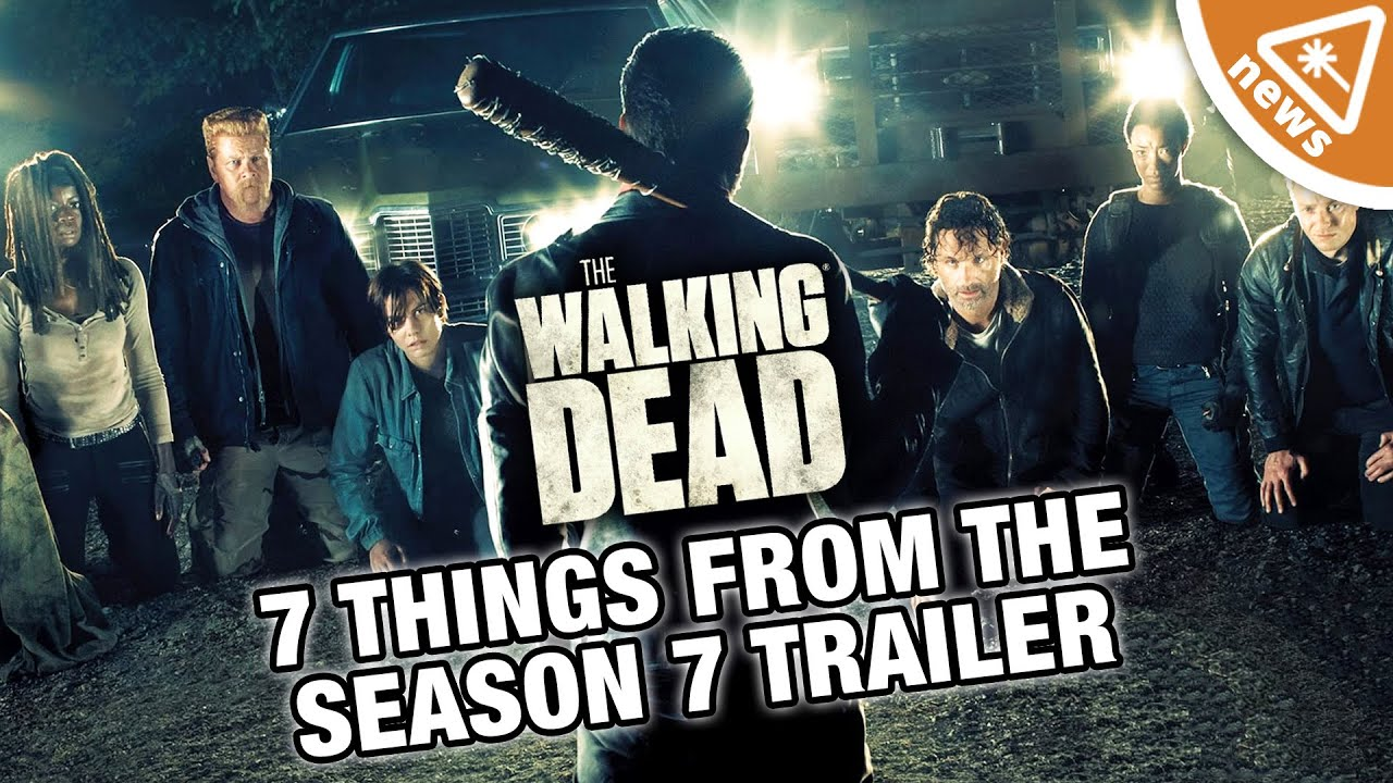 7 things you missed from the walking dead season 7 trailer nerdist news w jessica chobot. Black Bedroom Furniture Sets. Home Design Ideas