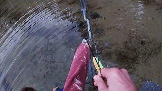 Bowfishing a Stingray + Squid - Catch & Cook (Salt & Vinegar Chips Batter Recipe)