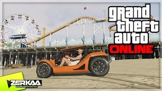 GTA V Online | 'BF BIFTA' Dune Buggy (Beach Bum DLC New Car) (GTA 5)