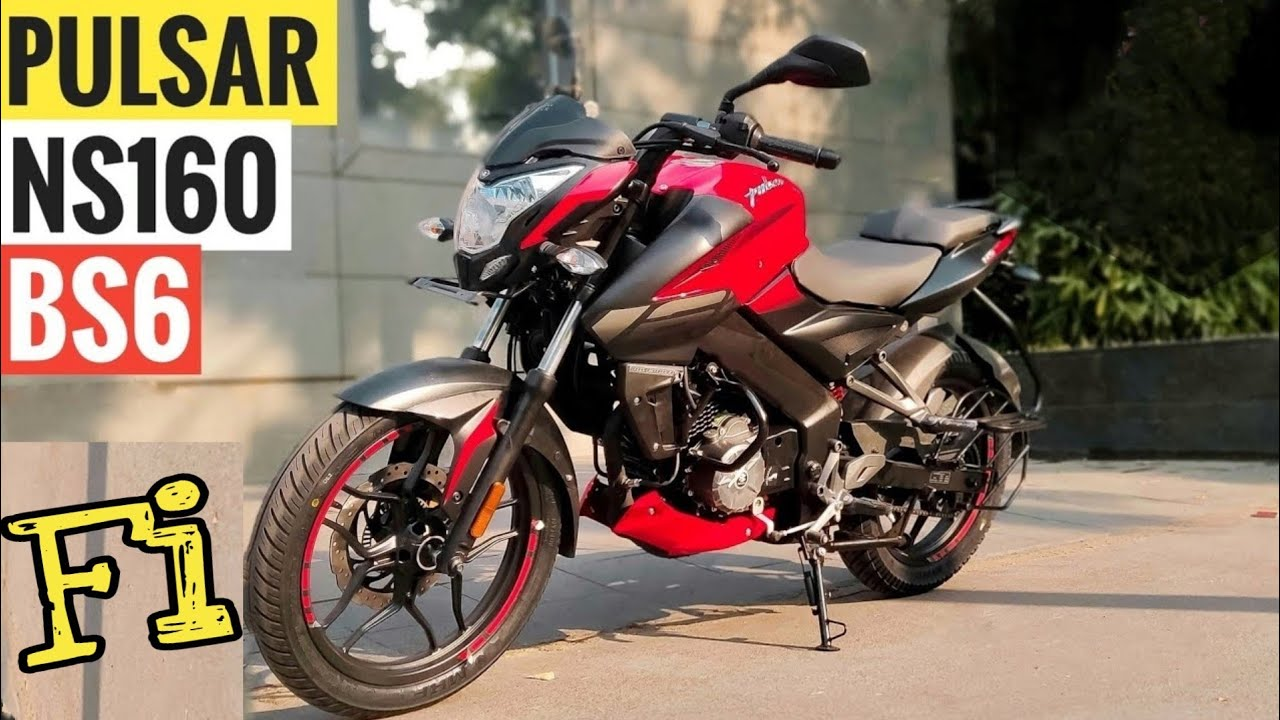New Bajaj Pulsar NS 160 BS-6   Price, Mileage, Features, Specifications, Review   PR Moto Vlogs