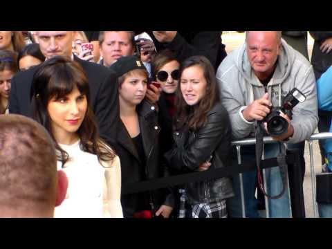 Caroline SIEBER @ Paris Fashion Week Septembre 2014 Show Chanel