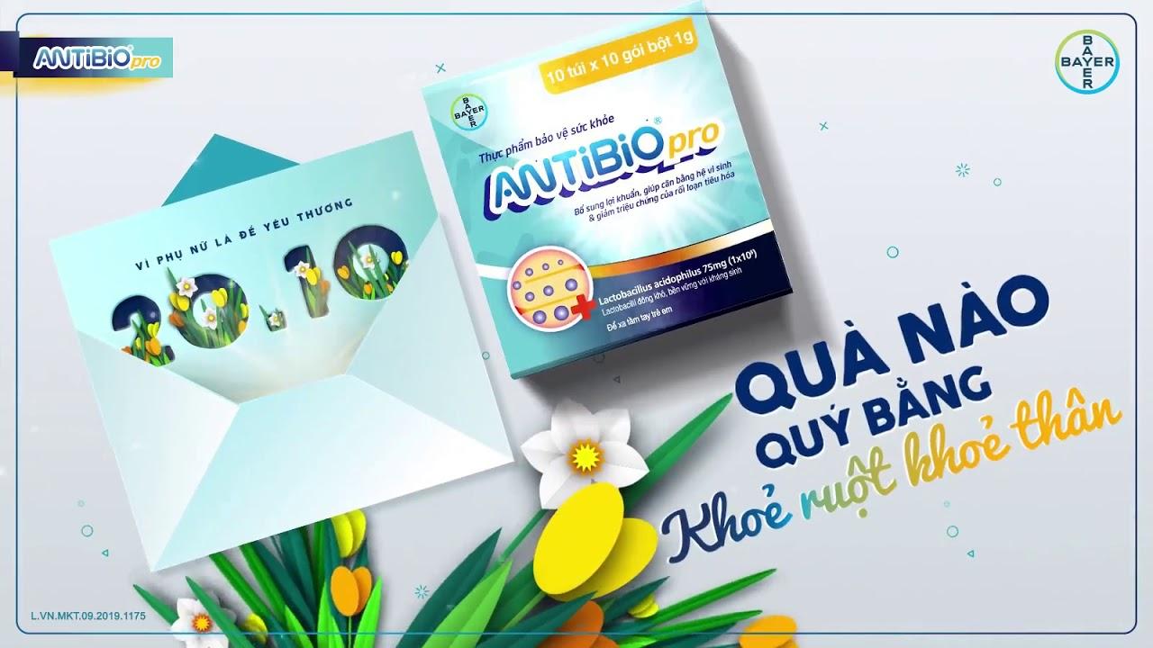 Antibio-Chúc mừng ngày phụ nữ Việt Nam