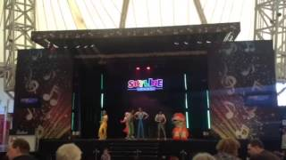 Skyline Gang Rumble In The Jungle Show Butlins Skegness March 2015
