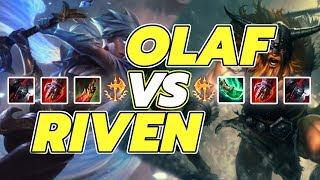 KÈO CĂNG CỰC OLAF VS RIVEN AI LÀ NGƯỜI BÁN HÀNH ?!