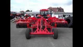 Agregat WICHER 4 m EXPOM półzawieszany oraz  ZETOR CRYSTAL 160  Maszyny Rolnicze Suchy Krapkowice