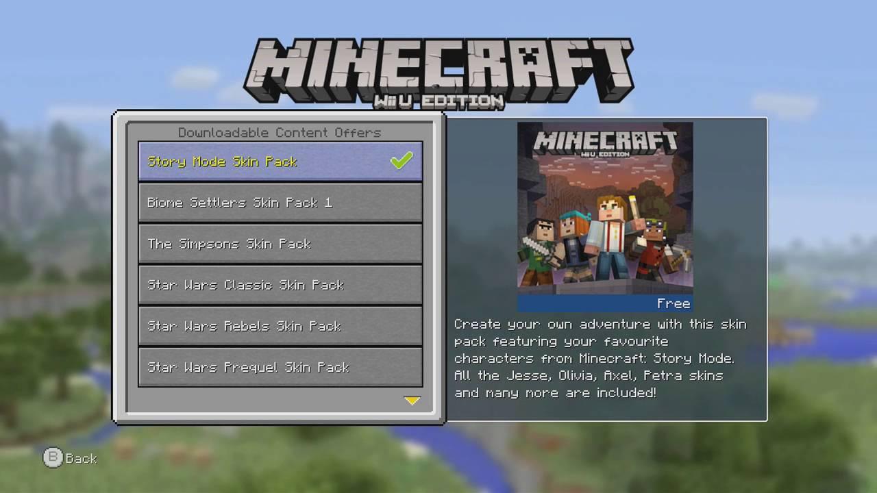 Minecraft Wii U Update Tu34 Achievements Free Dlc Gameplay Youtube