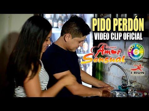AMOR SENSUAL - PIDO PERDÓN [VIDEO CLIP OFICIAL] MARY MUSIC PRODUCCIONES.