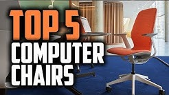 Best Computer Chairs in 2018 - Get The Best Comfort While You Work!