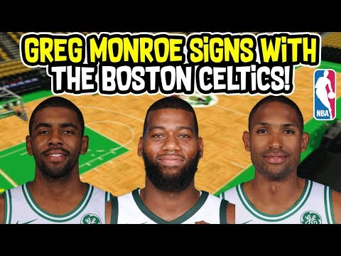 GREG MONROE SIGNS WITH THE BOSTON CELTICS! THE DOUBLE DOUBLE MACHINE! NBA SEASON SIMULATION