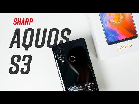Mở hộp Sharp Aquos S3 giảm giá 50%