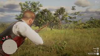 3 Star Deer Takes an Arrow To The Face - Hunting Red Dead Redemption 2