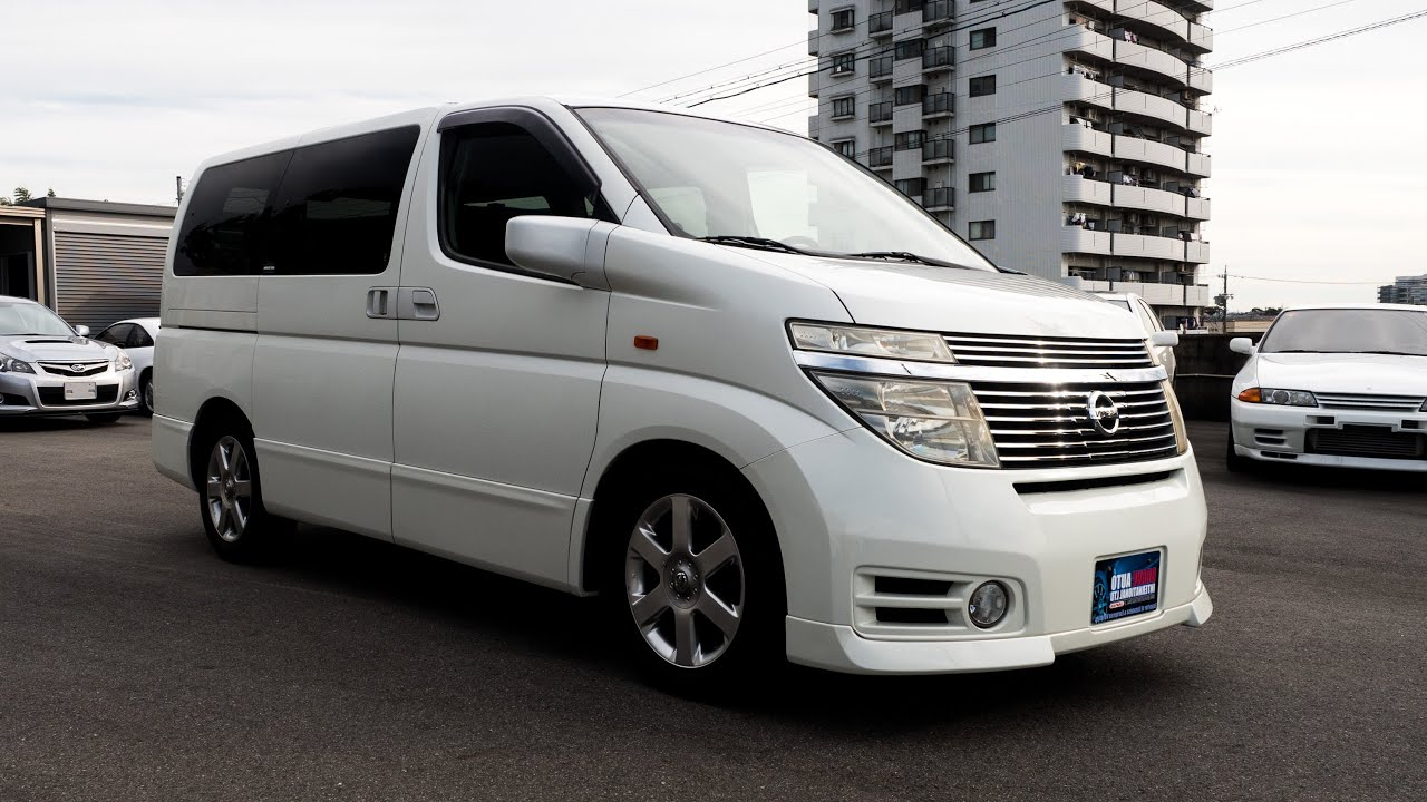 Walk Around 2004 Nissan Elgrand Highway Star 3 5l V6 Japanese