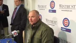 Jon Lester discusses his Cubs debut
