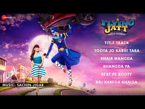 A Flying Jatt - FULL MOVIE AUDIO JUKEBOX | Tiger...