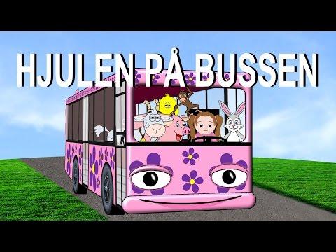 Barnsånger på svenska - Hjulen på bussen m.m. | 20+ min