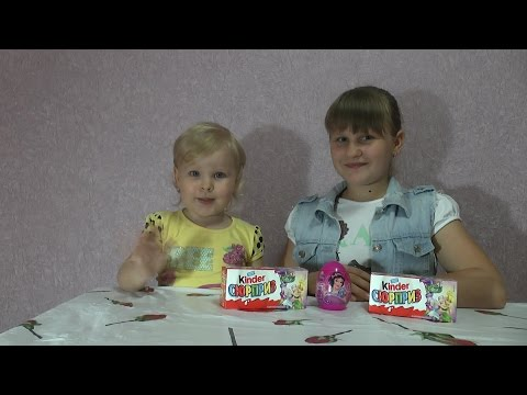 Киндер Сюрприз Феи Диснея распаковкаKinder Surprise Disney Fairies