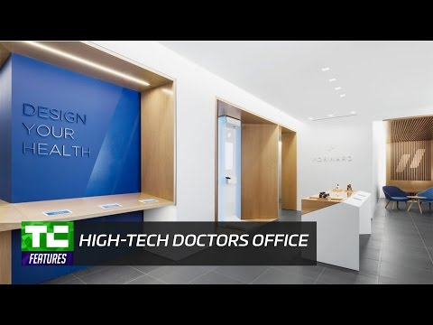 Inside Forward's high-tech doctor's office