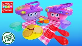 Leap Frog Shapes and Sharing Picnic Basket Unboxing Review Demo | Kids Play O'Clock Toys Review