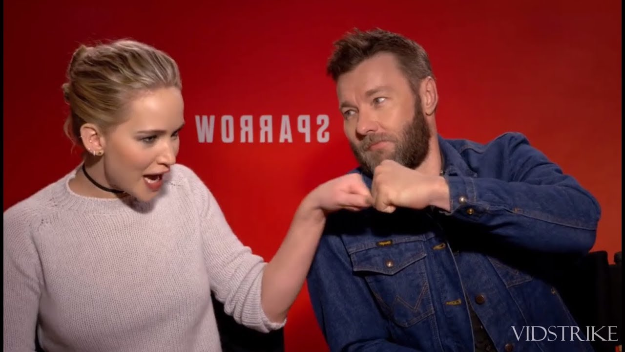 Red Sparrow Bloopers | Jennifer Lawrence & Joel Edgerton - YouTube