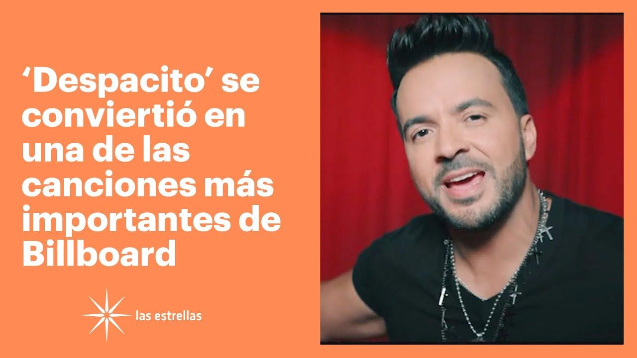 'Despacito' se convirtió en una de las canciones más importantes de Billboard | Las Estrellas