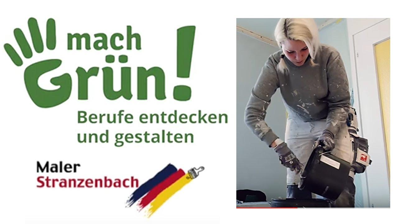 mach Grün! Unternehmensportrait - Malerei Stranzenbach
