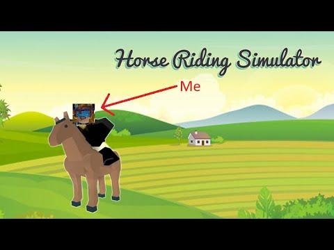 Horse Riding Simulator Gameplay Roblox Youtube
