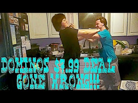 DOMINO'S $7.99 DEAL GONE WRONG!!!