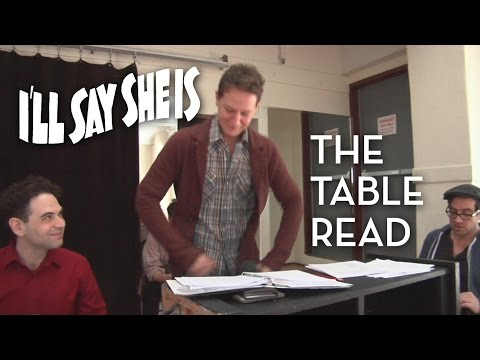 I'll Say She Is: The Table Read