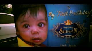 Srihaan First Birthday