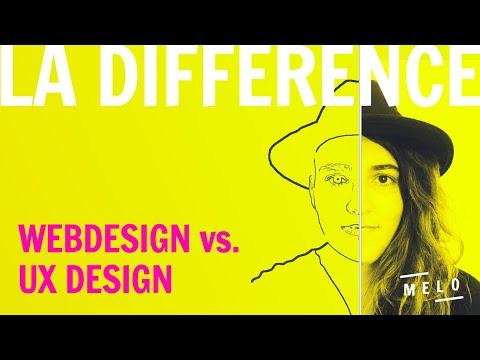 UX DESIGN & WEBDESIGN // C'EST QUOI LA DIFFÉRENCE ?