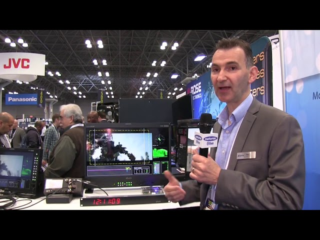 2017 NABShow New York - Plura PRM 224