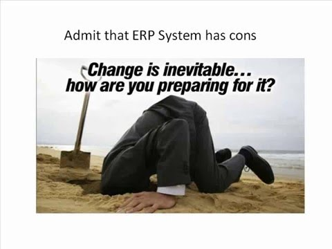 Simply, What is ERP (Enterprise Resource Planning) ?
