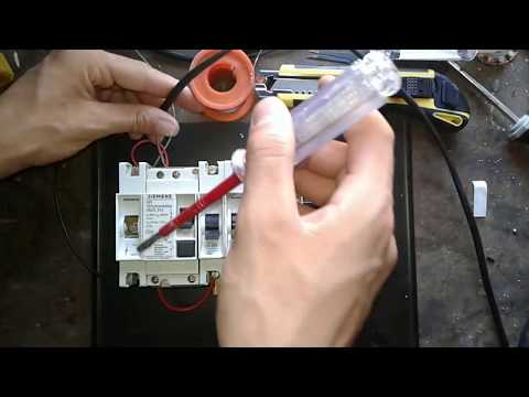 Wiring a Single Phase House Circuit Breaker Panel